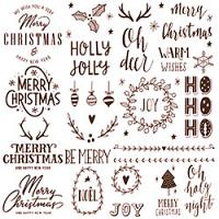 Christmas Typographs