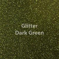 """Siser GLITTER Dark Green - 12""""x12"""" Sheet"""