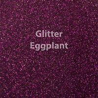 "Siser GLITTER Eggplant - 12""x12"" Sheet"