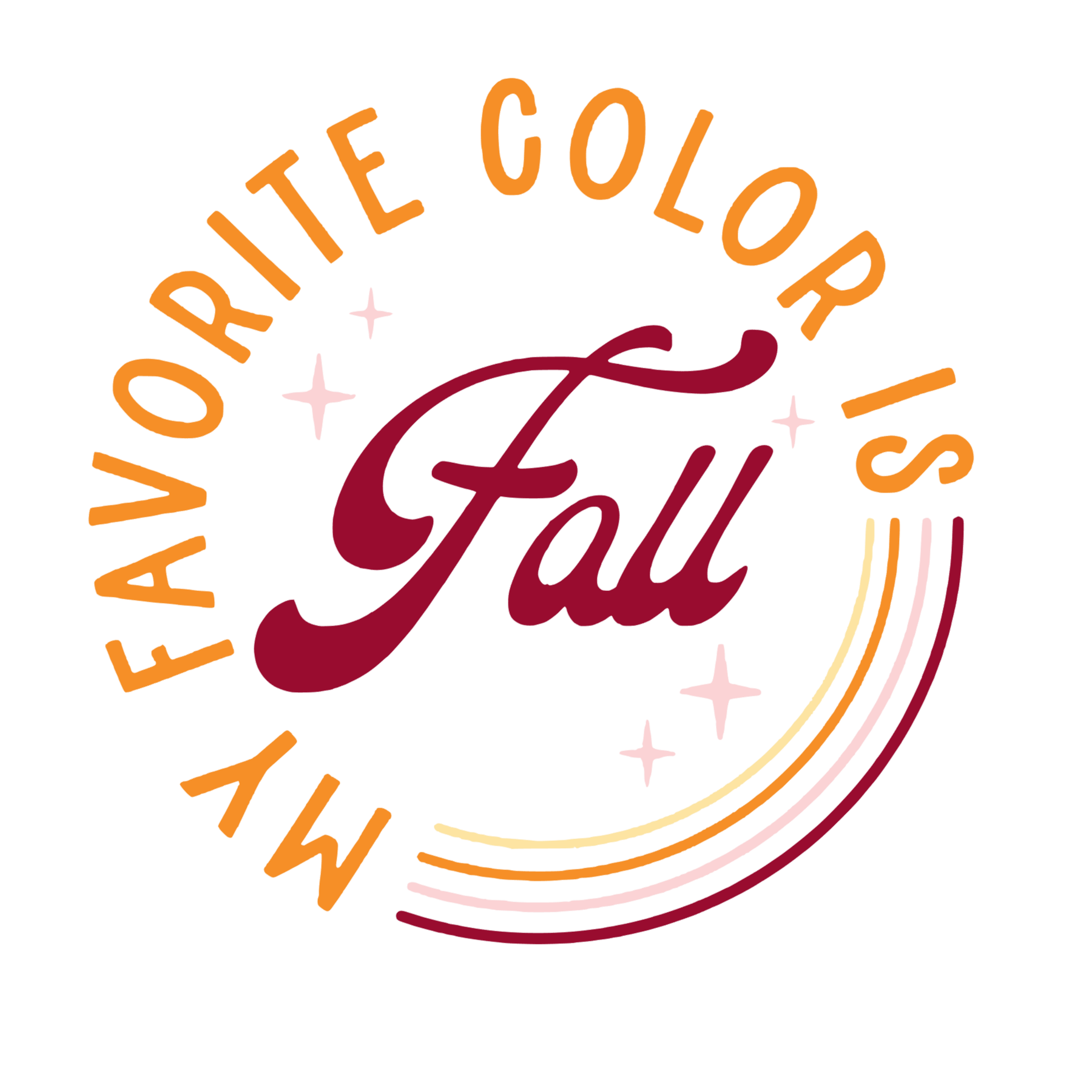 Favorite Color is Fall