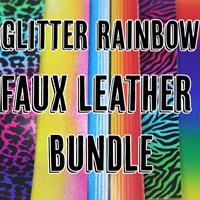 Faux Leather Glitter Bundle