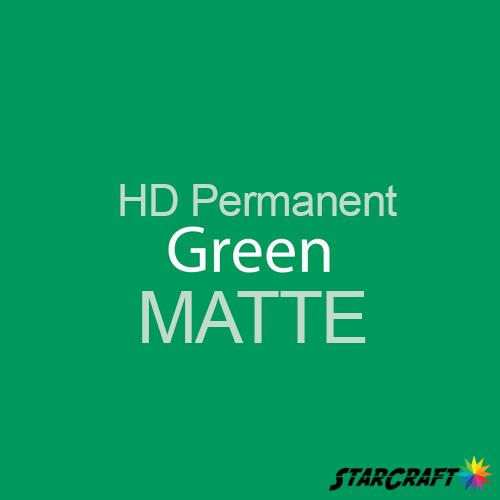 "StarCraft HD Permanent Adhesive Vinyl - MATTE - 12"" x 12"" Sheets - Green"