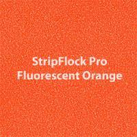 """Siser StripFlock Pro - Fluorescent Orange - 15""""x12"""" Sheet"""