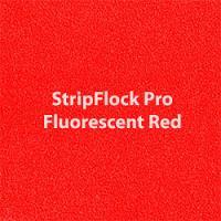 """Siser StripFlock Pro - Fluorescent Red - 15""""x12"""" Sheet"""