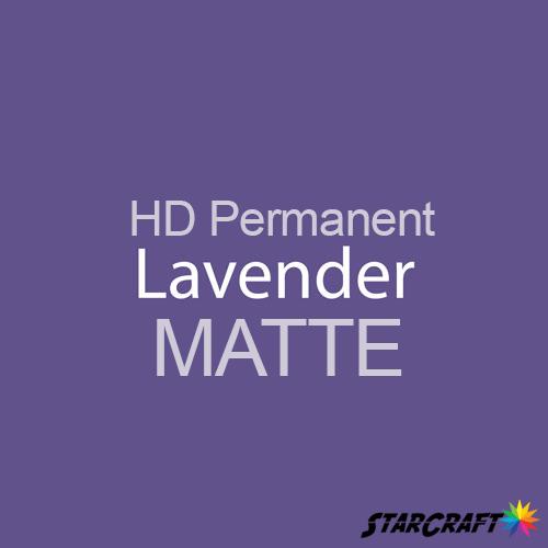 "StarCraft HD Permanent Adhesive Vinyl - MATTE - 12"" x 12"" Sheets - Lavender"