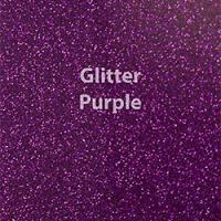 "Siser GLITTER Purple - 20""x12"" Sheet"