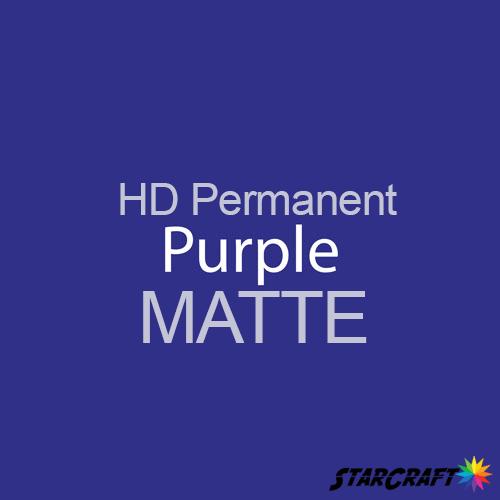 "StarCraft HD Permanent Adhesive Vinyl - MATTE - 12"" x 12"" Sheets - Purple"