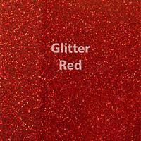 """Siser GLITTER Red - 12""""x12"""" Sheet"""