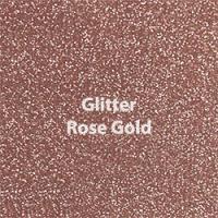 """Siser GLITTER Rose Gold - 20""""x12"""" Sheet"""