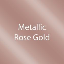 "StarCraft SD Matte Removable Adhesive Vinyl - Metallic Rose Gold - 12"" x 24"" Sheets"