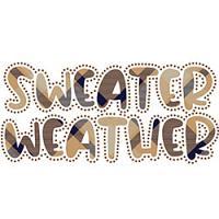 Sweater Weather Rhinestone
