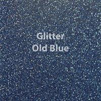 """1 Yard  of 20"""" Siser GLITTER - Old Blue"""