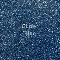 """1 Yard of 20"""" Siser GLITTER - Blue"""