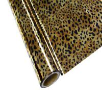 "25 Foot Roll of 12"" StarCraft Electra Foil - Leopard"
