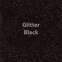 """1 Yard of 20"""" Siser GLITTER - Black"""