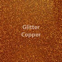 """1 Yard of 20"""" Siser GLITTER - Copper"""