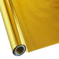 "25 Foot Roll of 12"" StarCraft Electra Foil - Holographic Gold Pixie Dust"