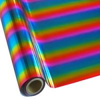 "25 Foot Roll of 12"" StarCraft Electra Foil - Rainbow 1"