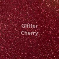 """1 Yard of 20"""" Siser GLITTER - Cherry"""