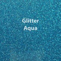 """1 Yard of 20"""" Siser GLITTER - Aqua"""