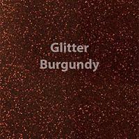 """1 Yard of 20"""" Siser GLITTER - Burgundy"""