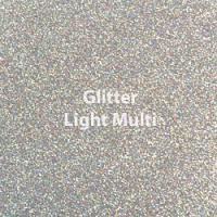 """1 Yard  of 20"""" Siser GLITTER - Light Multi"""
