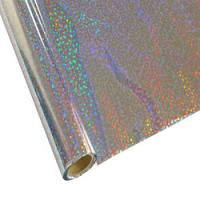 "25 Foot Roll of 12"" StarCraft Electra Foil - Silver Sequins"